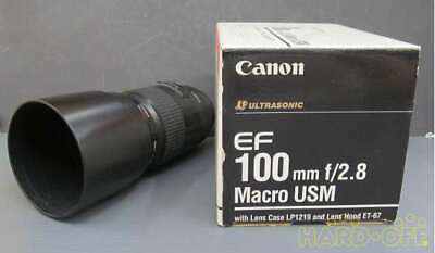 Canon Ef 100mm F2.8 Macro Usm Wide-Angle Single Focus Lens