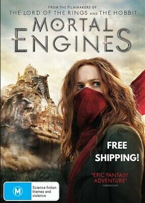 Mortal Engines DVD Reg 4 FREE POST! (2018) New!