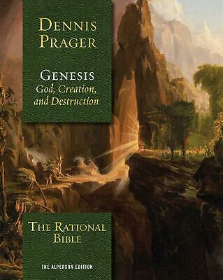 The Rational Bible Genesis Hardcover by Dennis Prager Bible Study (Books)