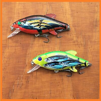 Fishing Lures Bream Bass Trout Cod Barra Flathead Whiting Redfin Fish Tackle