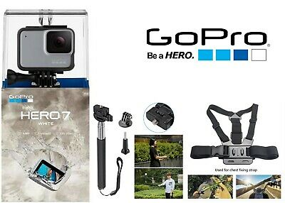 GoPro HERO 7 White Waterproof Action Camera + (Special Accessories) chdhb-601