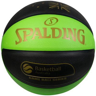 TF-Flex Size 7 Outdoor Basketball Australia in Green/Black from Spalding