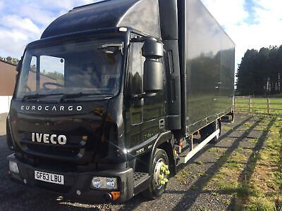 2013 63 IVECO EUROCARGO 75E16 20 ft BOX WITH TAIL LIFT