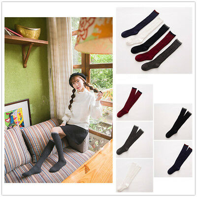 Women Lady Cashmere Wool Knee-High Winter Warm Thick Soft Comfort Boot Sock