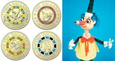 Mr Squiggle $2 coin set