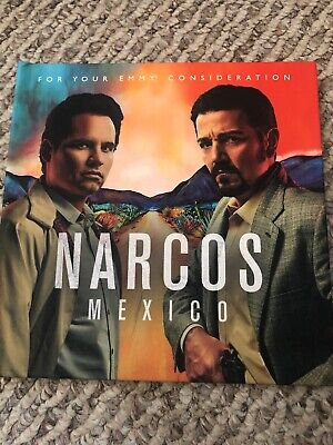 Narcos Mexico~2019 Netflix Fyc Dvd Set+Pressbook~Complete Season One~Diego Luna