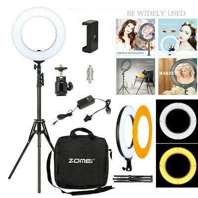 "18"" LED Ring Light with Stand Dimmable LED Lighting Kit For Makeup Youtube Live"