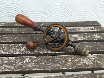 Stanley Sweetheart Hand Drill Vintage