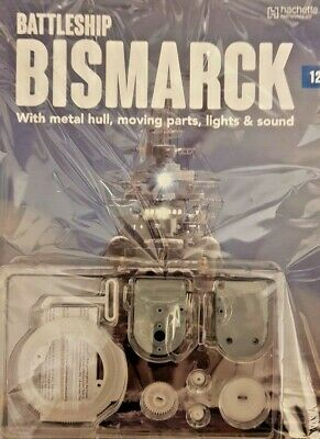 Build Bring The Bismark To Life Partwork Diecast Metal Scale 1: 200 = # 12