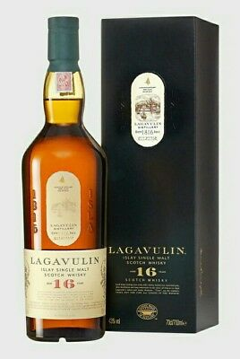 Lagavulin 16 Year Old Islay Single Malt Scotch Whisky Geschenk-Box