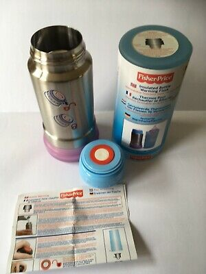 NEW - Fisher Price - Baby Travel Bottle / Food Warmer Thermos Flask