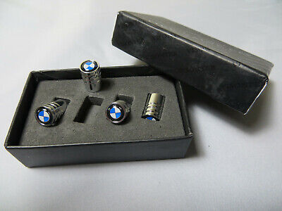 Premium Quality Stainless Steel Dust Caps With BMW Logo
