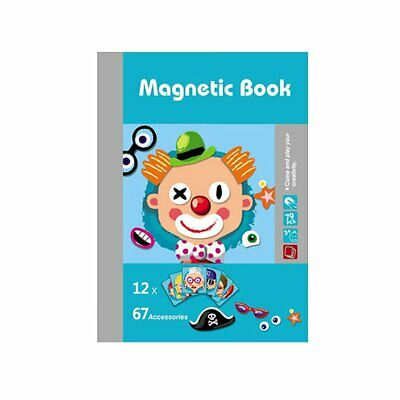 Kids Wooden Puzzle Educational Drawing Board Toy Magnetic Puzzle Drawing Boardl