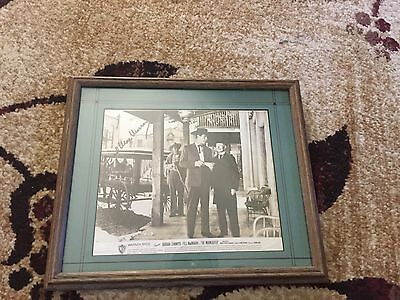 1953-Autographed -Fred MAC MURRAY -8 x 10 Photo -MOVIE- MOONLIGHTER-Framed