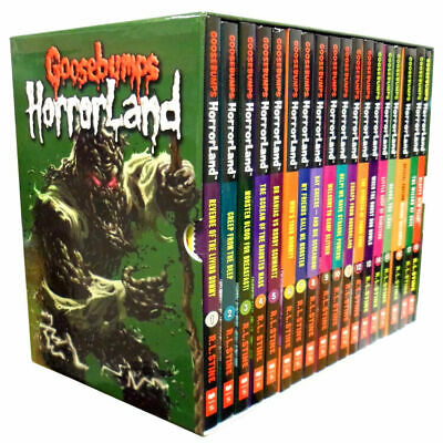 Goosebumps Horrorland Series 18 Books Children Collection Paperback By R.L Stine