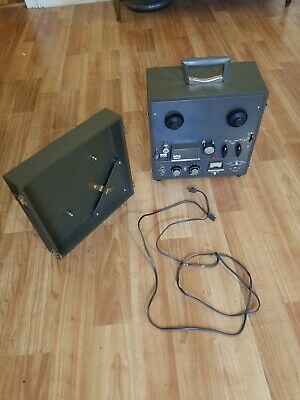 Vintage Roberts Model 1055 Tube Amp Reel Recorder - Well Preserved - Runs