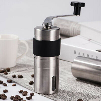 Adjustable Manual Coffee Grinder Stainless Steel Portable Replacement Tools LH