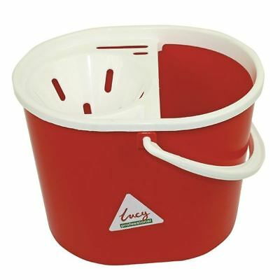 Lucy 15 Litre Red Mop Bucket L1405291  [SYR03232]