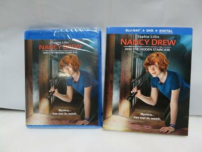 Nancy Drew and the Hidden Staircase Blu-Ray + DVD + Digital w/ Slipcover NEW