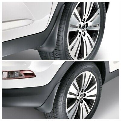New Genuine Kia Sportage (2011-2015) Front & Rear Mud Flaps #3WF46AC000/ADU200