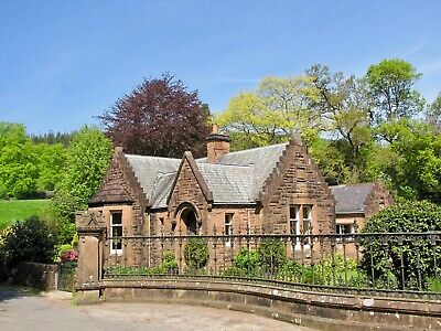 SCOTLAND: Period property & 1 Bed annexe & 1 acre grounds - near salmon fishing