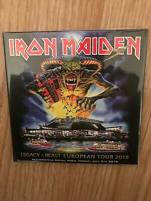 2 CD digipack IRON MAIDEN LEGACY OF THE BEAST EUROPEAN TOUR PARIS 1st NIGHT