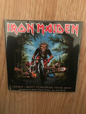 2 CD digipack IRON MAIDEN LEGACY OF THE BEAST EUROPEAN TOUR PARIS 2nd NIGHT