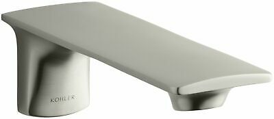 Kohler K14795BN Stance Wall Mount Bath Spout, Vibrant Brushed Nickel home improv