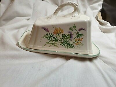 Old English  Butter Dish the country collection 1977 by royal winton