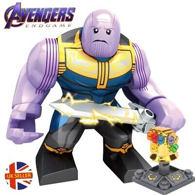 Thanos Figure Avengers End Game Marvel Fits Lego   New