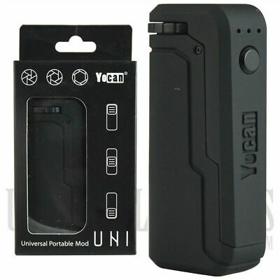 YOCAN uni 510 Battery w/ adjustable cart sizing (650 mAh)- BLACK- FREE SHIPPING