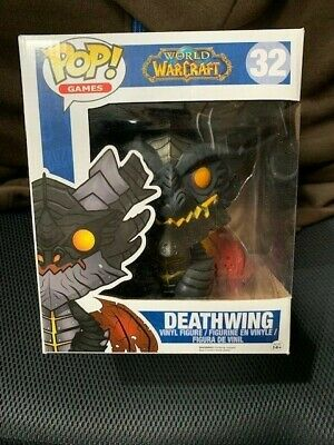 Blizzard Funko Pop! WOW Deathwing Retired / Rare #32 Free Shipping!
