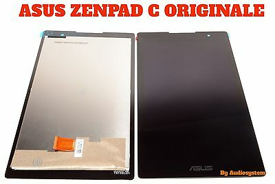 "Display +Touch Screen Originale Asus Per Zenpad C 7"" Z170 Z170Cg P01Y Vetro"