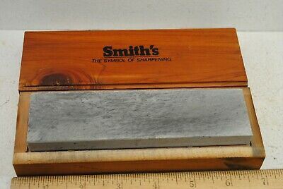 Smith's Sharpening Stone in Wood Box