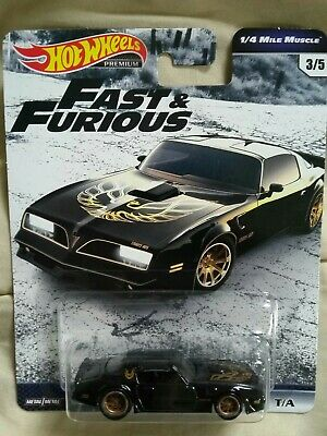 2019 Hot Wheels Premium Fast And Furious '77 Pontiac Firebird 1/4 Mile Muscle