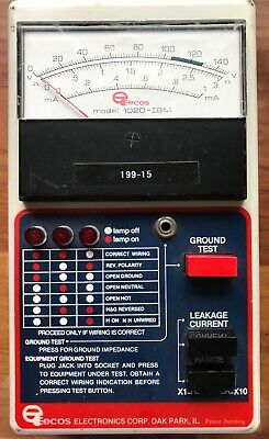 EECOS Model 1020-IBM Electrical Safety Analyzer - Preowned