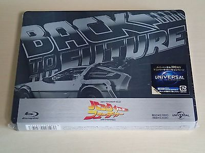 Back to the Future Steelbook Japan Limited Brand New