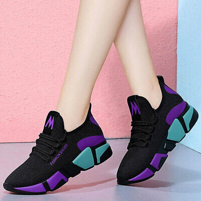 Womens Sports Shoes Casual Trainers Mesh Athletic Running Sneakers Breathable