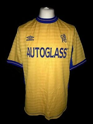 Chelsea 2000-01 Third Kit Vintage Football Shirt - Excellent Condition