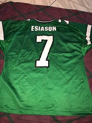 sports shoes 66da6 4e461 VINTAGE NFL WILSON New York Jets Boomer Esiason #7 Jersey Pro Cut Team  Edition