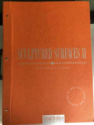 Sculptured Surfaces II Wallpaper Sample Book Scrapbooking Paper Crafts Cards