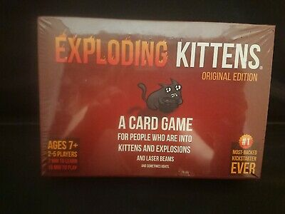 Exploding Kittens Original Edition Card Game New Sealed