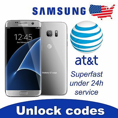 Factory Unlock Service At&T Code Samsung For Galaxy S9 S8 S7 Note 5,4,3 Active
