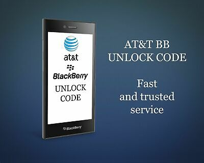 Factory Unlock Service At&T Code Blackberry For Bold Bold Curve 9900 Z10 Q10