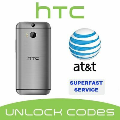 Factory Unlock Service At&T Code Htc For One X S V M7 M8 M9 Desire 601 510 320