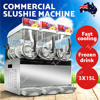 45L Commercial Slushie Machine Granita Slush Maker Slurpee Slushy Juice Drink OZ