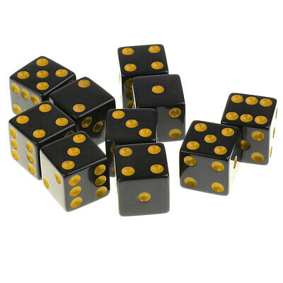 40Pcs Board Game Dice Die D6 Six Sided for Role Playing Game RPG Party Toys