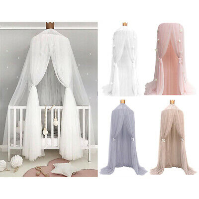 US Children Bedroom Dome Bed Canopy Netting Princess Mosquito Net Curtain