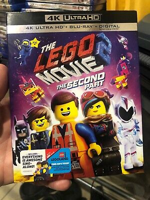 The LEGO Movie 2: The Second Part (4K UHD + Blu-ray, 2019) No Digital Code