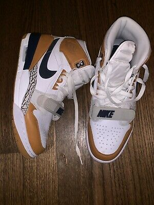 6ba92a3244b08c Air Jordan Legacy 312 NRG Medicine Ball SZ 11 NIKE JUST DON WHITE MID NAVY  DS